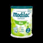 Modilac Expert Bio 2 Lait Poudre B/800g à La Ricamarie