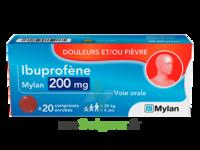 Ibuprofene Mylan 200 Mg, Comprimé Enrobé à La Ricamarie