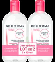 Acheter CREALINE TS H2O Solution micellaire sans parfum nettoyante apaisante 2Fl/500ml à La Ricamarie