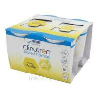 Clinutren Dessert 2.0 Kcal Nutriment Vanille 4cups/200g à La Ricamarie