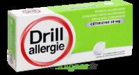 Drill 10 Mg Comprimés à Sucer Allergie Cétirizine Plq/7 à La Ricamarie