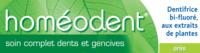 Boiron Homéodent Soin Complet Dents Et Gencives Pâte Dentifrice Anis T/75ml à La Ricamarie