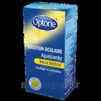 Optone Solution Oculaire Rafraîchissante Yeux Irrités Fl/10ml à La Ricamarie