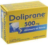 DOLIPRANE 500 mg Poudre pour solution buvable en sachet-dose B/12 à La Ricamarie
