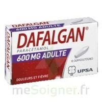 Dafalgan 600 Mg Suppositoires Adulte Plq/10 à La Ricamarie