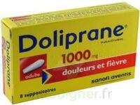 Doliprane 1000 Mg Suppositoires Adulte 2plq/4 (8) à La Ricamarie
