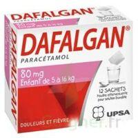 Dafalgan 80 Mg Poudre Effervescente Pour Solution Buvable B/12 à La Ricamarie