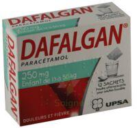 Dafalgan 250 Mg Poudre Effervescente Pour Solution Buvable B/12 à La Ricamarie
