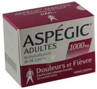 ASPEGIC ADULTES 1000 mg, poudre pour solution buvable en sachet-dose 15 à La Ricamarie