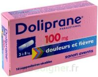 DOLIPRANE 100 mg Suppositoires sécables 2Plq/5 (10) à La Ricamarie