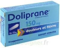 DOLIPRANE 150 mg Suppositoires 2Plq/5 (10) à La Ricamarie