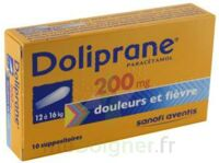 Doliprane 200 Mg Suppositoires 2plq/5 (10) à La Ricamarie