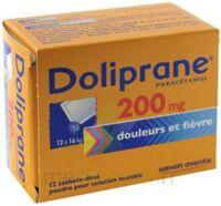 Doliprane 200 Mg Poudre Pour Solution Buvable En Sachet-dose B/12 à La Ricamarie