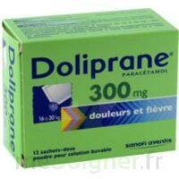 Doliprane 300 Mg Poudre Pour Solution Buvable En Sachet-dose B/12 à La Ricamarie