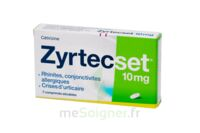 ZYRTECSET 10 mg, comprimé pelliculé sécable à La Ricamarie