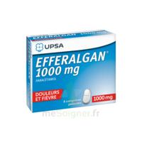 Efferalgan 1000 Mg Comprimés Pelliculés Plq/8 à La Ricamarie