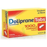 DOLIPRANETABS 1000 mg Comprimés pelliculés Plq/8 à La Ricamarie