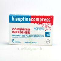 Biseptinecompress Compressses Impregnees, Bt 8 à La Ricamarie