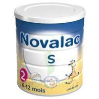 NOVALAC S 2 Lait en poudre satiétant 2ème âge B/800g à La Ricamarie