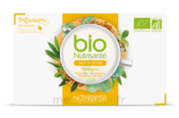 Nutrisanté Infusions Bio Tisane Régulation Des Sucres 20 Sachets à La Ricamarie