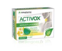 Activox Sans Sucre Pastilles Menthe Eucalyptus B/24 à La Ricamarie