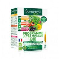 Santarome Bio Programme Ultra Minceur Solution Buvable 30 Ampoules/10ml à La Ricamarie
