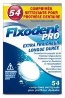 Fixodent Pro Comprimés Nettoyant Fraîcheur Longue Durée Pour Prothèse Dentaire B/54 à La Ricamarie