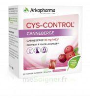 Cys-control 36mg Poudre Orale 20 Sachets/4g à La Ricamarie