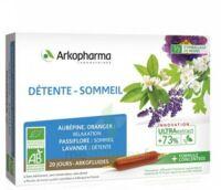 Arkofluide Bio Ultraextract Solution Buvable Détente Sommeil 20 Ampoules/10ml à La Ricamarie