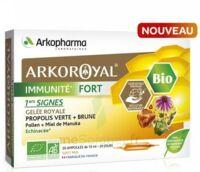 Arkoroyal Immunité Fort Solution Buvable 20 Ampoules/10ml à La Ricamarie