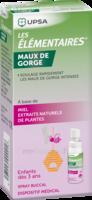 LES ELEMENTAIRES Spray buccal maux de gorge enfant Fl/20ml à La Ricamarie