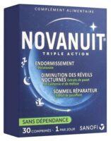 Novanuit Triple Action Comprimés B/30 à La Ricamarie