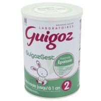 Guigoz Guigozgest 2 Lait Poudre B/800g à La Ricamarie