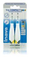 Inava Brossettes Tri Compact étroit  012 Noir 0,6mm/ Bleu 0,8mm/ Jaune 1mm à La Ricamarie