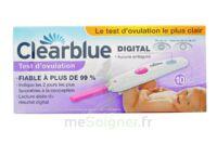 TEST D'OVULATION DIGITAL CLEARBLUE x 10 à La Ricamarie