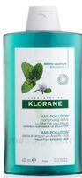 Klorane Menthe Aquatique Shampooing Détox 400ml à La Ricamarie