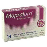 Mopralpro 20 Mg Cpr Gastro-rés Film/14 à La Ricamarie