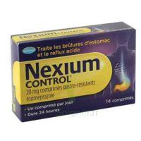 Nexium Control 20 Mg Comprimés Gastro-résistants Plq/14 à La Ricamarie