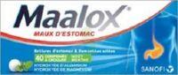 Maalox Hydroxyde D'aluminium/hydroxyde De Magnesium 400 Mg/400 Mg Cpr à Croquer Maux D'estomac Plq/40 à La Ricamarie