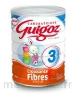 Guigoz 3 Lait De Croissance Fibres  800g à La Ricamarie