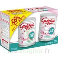 GUIGOZ LAIT EXPERT AR2 LOT DE 2X800GR à La Ricamarie
