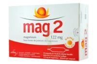 MAG 2 122 mg S buv en ampoule sans sucre édulcoré à la saccharine sodique 30Amp/10ml à La Ricamarie