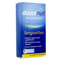 Doucenuit Antironflement Languettes, Sachet 28 à La Ricamarie
