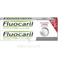 Fluocaril Bi-Fluoré 145 mg Pâte dentifrice blancheur 2*75ml à La Ricamarie