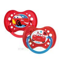 Dodie Disney Sucettes Silicone +18 Mois Cars Duo à La Ricamarie