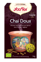 YOGI TEA CHAÏ DOUX à La Ricamarie
