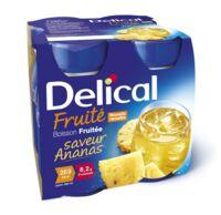 DELICAL BOISSON FRUITEE Nutriment ananas 4Bouteilles/200ml à La Ricamarie