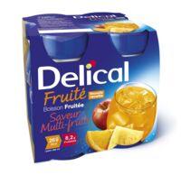 DELICAL BOISSON FRUITEE Nutriment multi fruits 4Bouteilles/200ml à La Ricamarie