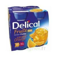 DELICAL BOISSON FRUITEE Nutriment orange 4Bouteilles/200ml à La Ricamarie