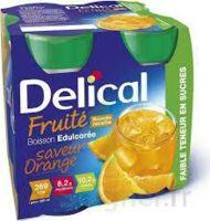 DELICAL BOISSON FRUITEE Nutriment édulcoré orange 4Bouteilles/200ml à La Ricamarie